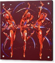 Elation Acrylic Print by Penny Warden