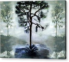 Elegy To A Tree Acrylic Print