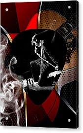 Elvis Presley Art Acrylic Print by Marvin Blaine
