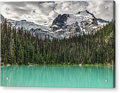 Acrylic Print featuring the photograph Emerald Reflection by Pierre Leclerc Photography