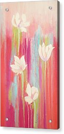 Simplicity 2 Acrylic Print by Irene Hurdle