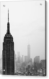 Empire Acrylic Print by Martin Newman