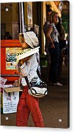 En Route To Siem Reap Acrylic Print