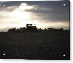 End Of The Road Acrylic Print by Shane Hayes