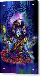 Enlightened Shiva Acrylic Print