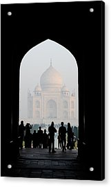 Entrance To The Taj Mahal Acrylic Print