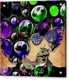 Eric Clapton Cream Collection Acrylic Print by Marvin Blaine