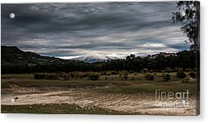 Etna, The West Side Acrylic Print