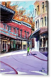 Eureka Springs Ak 4 Acrylic Print by Ron Stephens