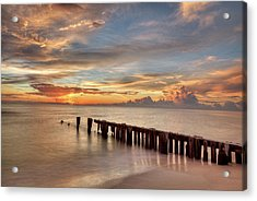 Evening Delight Acrylic Print by Nick  Shirghio