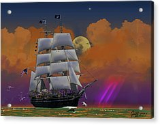 Evening Return For The Elissa Acrylic Print by J Griff Griffin