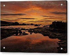 Evenings End Acrylic Print by Roy McPeak