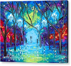 Ever After Acrylic Print by Jessilyn Park