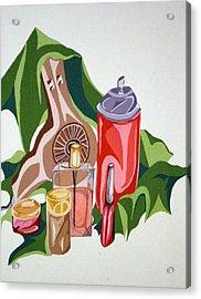 Everyday Items Acrylic Print by Tammera Malicki-Wong