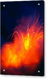 Exploding Lava Acrylic Print by Greg Vaughn - Printscapes