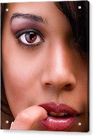 Eye Has It Acrylic Print by Val Black Russian Tourchin