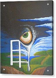Eyefence Acrylic Print