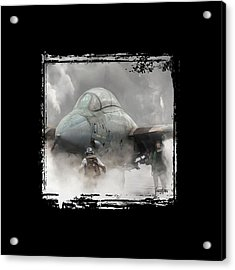F-14 Smokin' Hot Acrylic Print