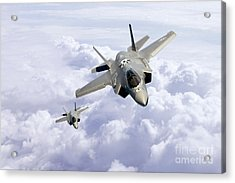F35 Lightning II Acrylic Print