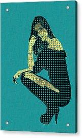 Fading Memories - The Golden Days No.2 Acrylic Print