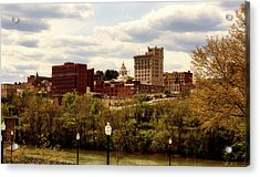 Fairmont West Virginia Acrylic Print by L O C