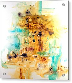 Faith Like A Mustard Seed Acrylic Print