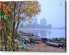 Fall At Stanley Park Acrylic Print