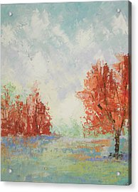 Fall In Provence Acrylic Print