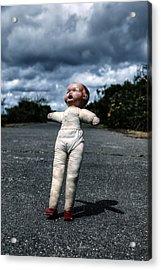 Falling Doll Acrylic Print