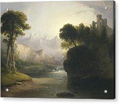 Fanciful Landscape Acrylic Print
