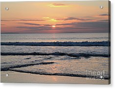 Fanore Sunset 2 Acrylic Print