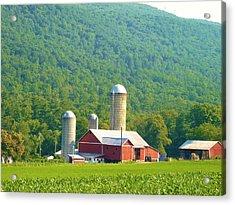 Farm In Belleville Pa Acrylic Print