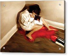 Fashion Victim Acrylic Print by Naikos N