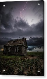 Acrylic Print featuring the photograph Fear by Aaron J Groen