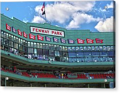 Acrylic Print featuring the photograph Fenway Park by Mitch Cat