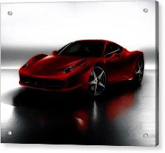 Ferrari 458 Acrylic Print