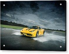 Ferrari 458 Speciale Acrylic Print