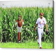 Field To Field Acrylic Print by John Freidenberg