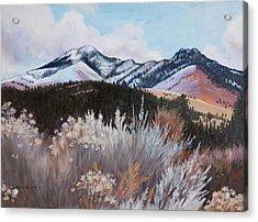 Fields Peak Acrylic Print