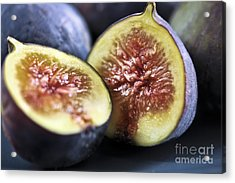 Figs Acrylic Print by Elena Elisseeva