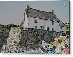 Acrylic Print featuring the photograph Fishermans Cottage by Brian Roscorla