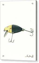 Fishing Lure  Acrylic Print by Juan Bosco