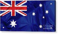 Flag Of Australia Acrylic Print