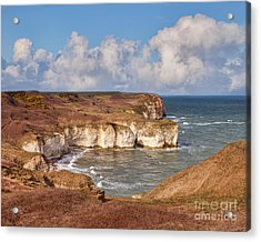 Acrylic Print featuring the photograph Flamborough Head by Colin and Linda McKie
