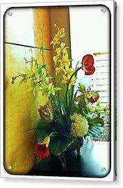 Floral Bouquet Acrylic Print by Francesco Roncone