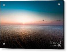 Florida Sunset Acrylic Print by Ryan Kelly