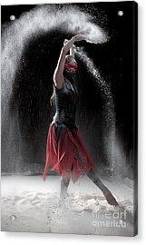 Flour Dancing Series Acrylic Print