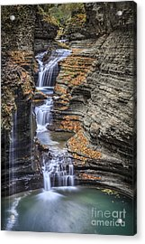 Flow Gently Acrylic Print