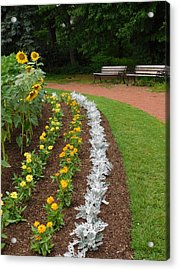 Flower Bed  Acrylic Print