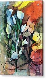 Flowers Fantasy Acrylic Print